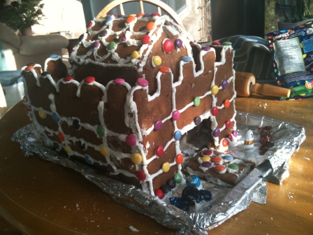 Gingerbread Fort