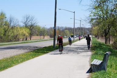 Bike & Pedestrian Path, Hamilton, Ontario