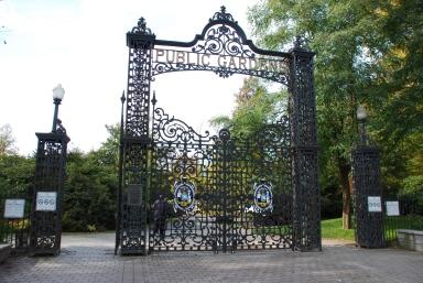 Public Garden, Halifax, NS
