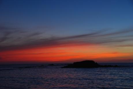 Sunset on Water - 2014 - KP