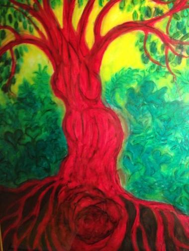 tree woman 002