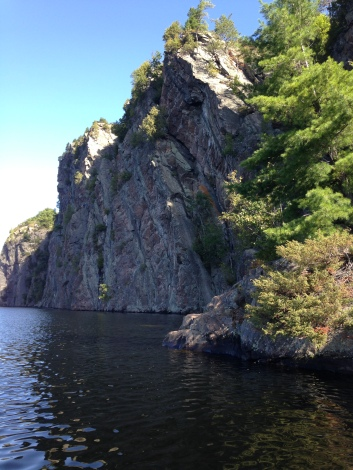 Cliff Face, Mazinaw Lake, Ontario KP
